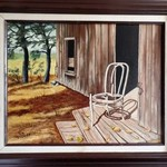 the lonely chair By Teri Paquette