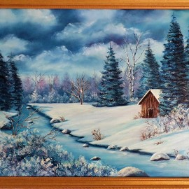 winter blues By Teri Paquette
