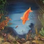 happy goldfish By Terri Cabral
