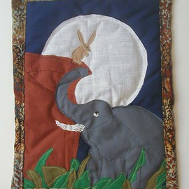 The Elephants and the Moon