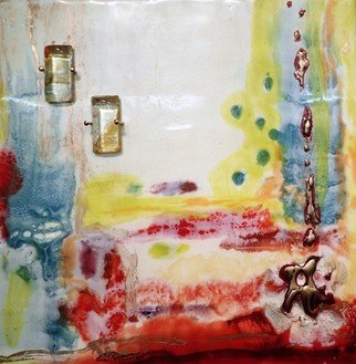 T.e. Siewert: 'i want to go', 2015 Encaustic Painting, Abstract.