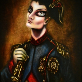 Napoleon at War Painting by Tiago Azevedo By Tiago Azevedo