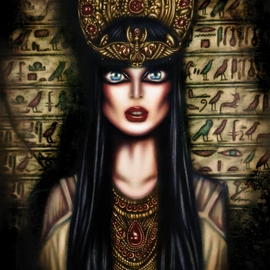 The Gaze of Queen Cleopatra by Tiago Azevedo By Tiago Azevedo