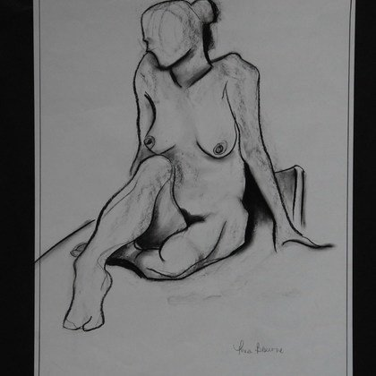 , Seated Female, Nudes, $105