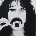 Frank Zappa By Adam Burgess