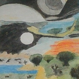 beginning of creation  By Themis Koutras
