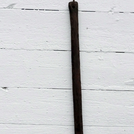 Theodore Hinman: 'Long Ax', 2012 Mixed Media Sculpture, History. Artist Description:     Steel blade.          ...