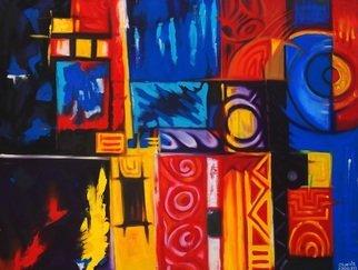 Artist: Egunlae Olumide - Title: transformation - Medium: Oil Painting - Year: 2013