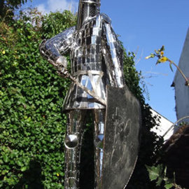 Thierry Lauwers Artwork The Hanbury Knight, 2007 Steel Sculpture, Figurative