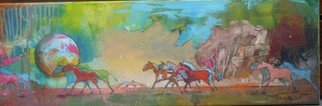 Artist: Thierry Merget - Title: CHEVAL LIBERTE 2 de 5 - Medium: Acrylic Painting - Year: 2016