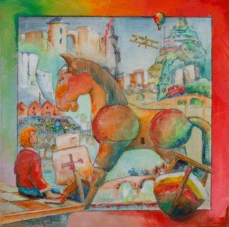 Thierry Merget Artwork Le cheval de Troie 3, 2015 Le cheval de Troie 3, Surrealism