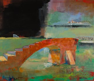 Thierry Merget Artwork Le pelerin, 2015 Le pelerin, Surrealism