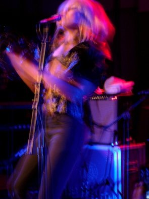 Color Photograph by Russel Nelson titled: shes got the moves, created in 2009