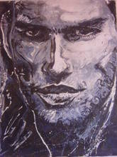 - artwork RIDER-1306331301.jpg - 2008, Painting Acrylic, Figurative