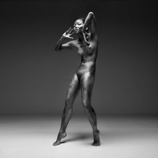Thorsten Jankowski: 'Break', 2010 Black and White Photograph, Nudes. Artist Description:  Sculptural FineArt Nude        ...