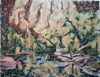 Chris Gould Artwork Merced River, 2003 Oil Painting, Landscape
