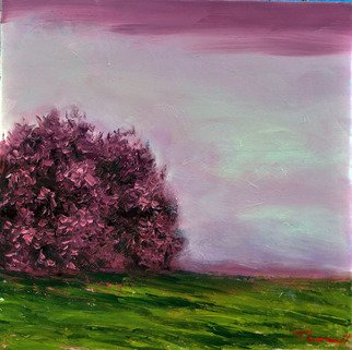 Nguyen Huu Thuan: 'The end of Spring', 2017 Oil Painting, Landscape. Artist Description: The end of Spring for begin of Summer look the natural is beautiful...