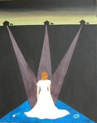 Tina Chapman: 'choices', 2005 Acrylic Painting, Love. the choices we face and how we sometimes feel like we have not enough choices. sometimes you have to make a decision and sometimes not making one is decision enough. ...