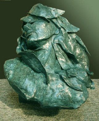 Bronze Sculpture by Michael Tieman titled: Spirit of the Sea, 2003