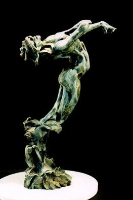 Tim Holmes: 'Within Be Fed', 2002 Bronze Sculpture, Dance. Fantastic anatomy combines with a deep sense of transformative tension in a paean to the nourishment of the spirit. Each of us is fed from our internal connection with the divine....