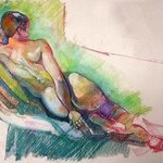 Kelsey Reclined Arm in Back By Timothy King