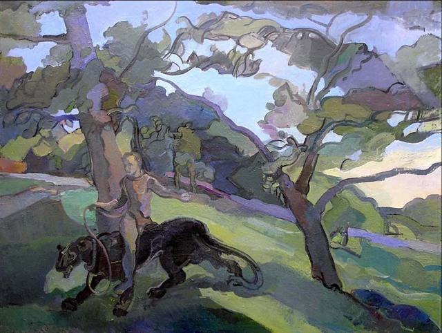 Timothy King Artwork Postmodern Dogma Original Painting