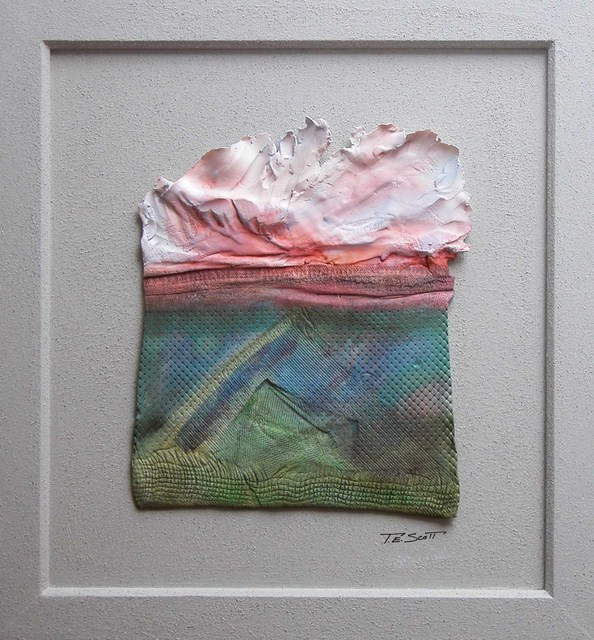 Timothy Scott  'Landscape With Clouds', created in 2010, Original Other.