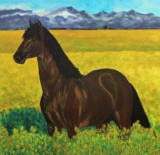 Artist: Tina Noya - Title: Buttercups - Medium: Acrylic Painting - Year: 2011
