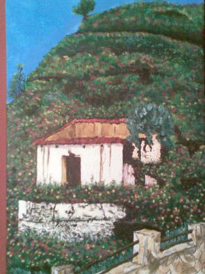 Tina Noya Artwork La Ruina, 2011 Acrylic Painting, Landscape