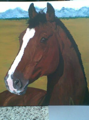 Artist: Tina Noya - Title: Vos - Medium: Acrylic Painting - Year: 2011
