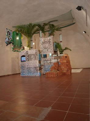 Tirzo Martha: 'Tourism', 2009 Indoor Installation, Conceptual.  How people deal with tourism in the Caribbean region ...