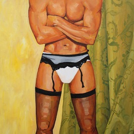 The Man With Stockings, Tiziana Fejzullaj