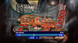 Todd Mosley Artwork 01 11 2007 The Office 839 840pm, 2008 Oil Painting, Television