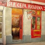 Old Tavern Cepa Riojana Spain By Tomas Castano