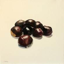 - artwork chestnuts-1316248887.jpg - 2011, Painting Oil, Still Life