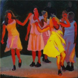 Firelight dancers By Tom Henderson Smith