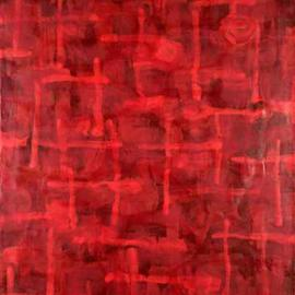 Tom Tabakin Artwork Red Room, 2005 Other, Abstract