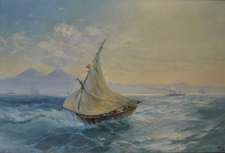 Gregory Fomin Artwork gregory fomin, 2000 Oil Painting, Marine