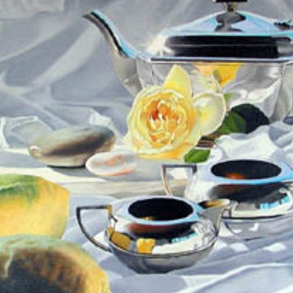 , Lemon Tea, Still Life, Sold