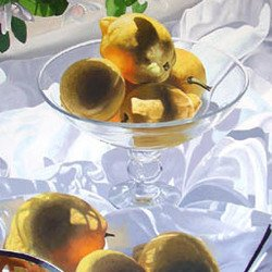 , Freshly Picked Lemons, Still Life, Request Price