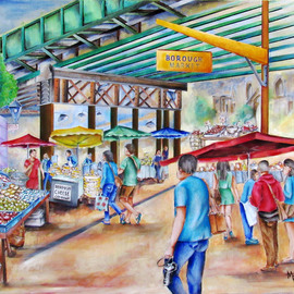 borough market london By Miriam Besa
