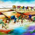planting rice By Miriam Besa