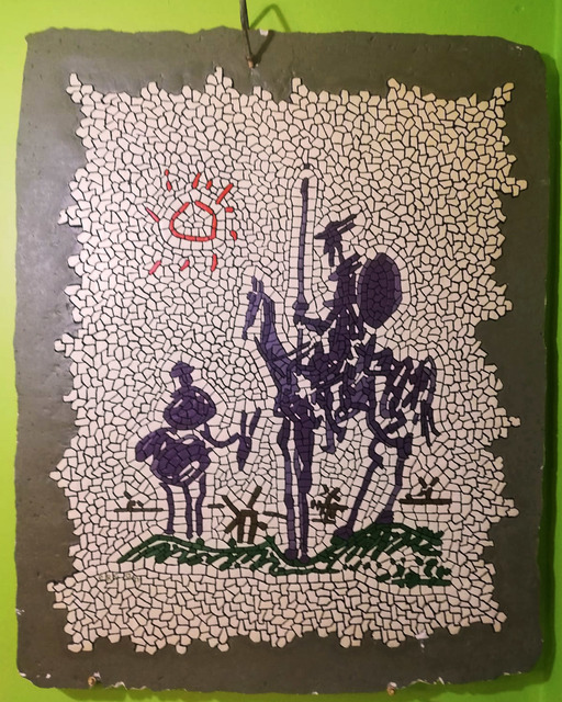 Ercan Toprak  'Don Quixote', created in 2009, Original Mosaic.