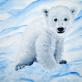 KNUT original oil painting listed by artist By Duta Razvan