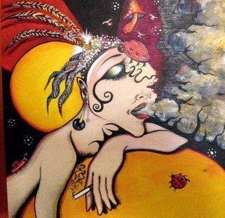 Artist: Vicki Myers - Title: lady bug - Medium: Acrylic Painting - Year: 2012