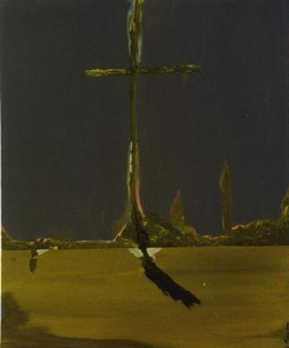 by Paulo Medina titled: Cruz estalagmita, 2000
