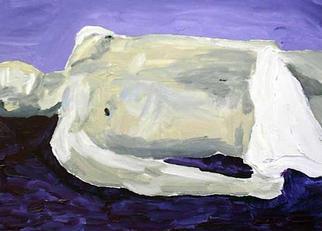 Paulo Medina Artwork Estudio para deposicion, 2001 Acrylic Painting, Christian