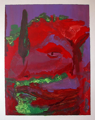 Paulo Medina Artwork Fauno, 2002 Acrylic Painting, Mythology