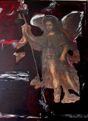 Collage by Paulo Medina titled: San Rafael, 2001