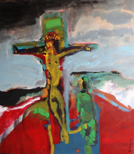 Paulo Medina  'Crucifixion', created in 2004, Original Digital Print.